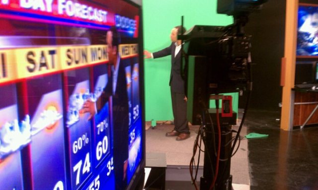 Dave doing weather