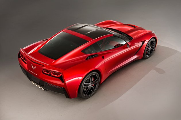 A photo of the 2014 Corvette Stingray (Courtesy: General Motors).