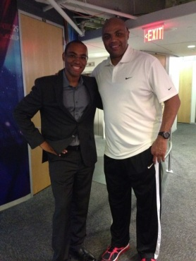 Dave Kinchen and Charles Barkley